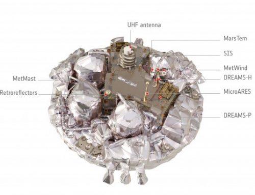 Schiaparelli EDM Lander crashes in Mars