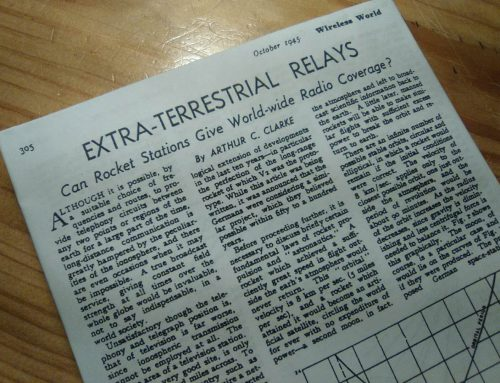 "ARTHUR C. CLARKE'S ""EXTRA-TERRESTRIAL RELAYS"""